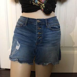 Bebe   Blue Jean Shorts